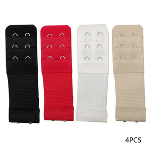 20 Pz 2 Hook Extension Strap Bra elastico di Bra Extender per le donne a gancio regolabile Expander Underwear Belt Buckle