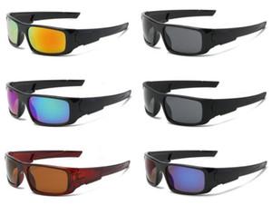 6 farben fabrik preis meistverkauften männer brille kurbelwelle sport sonnenbrille unisex acetat uv400 brille für frau