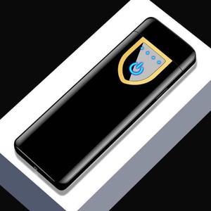 USB аккумуляторные электронные зарядки зарядки нагреватели сенсорные индукционные ветрозащитные электроники ультратонкие сигареты на заказ металлический металл