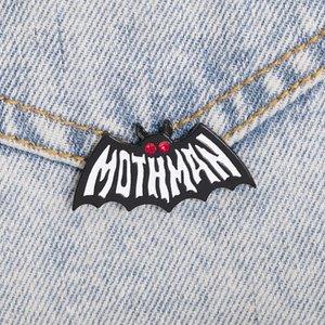Mothman Symbol Emaille Pin Kleidung Rucksack-Revers-Broschen Cartoon Schmuckgeschenke für Freund zdl0429.