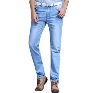 Большая распродажа весна лето джинсы Utr тонкие бесплатная доставка 2018 мужская мода джинсы мужские брюки одежда новый модный бренд Y19060501