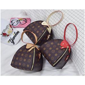 Niños bolsos de lujo de impresión diseñador mini linterna triángulo monedero bolsas de hombro adolescente niños niñas PU mensajero regalo de Navidad B40