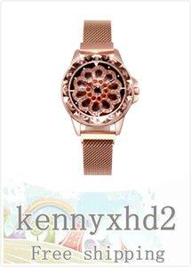 New Trendy Running Watch Fashion Trend Hollow Diamond Waterproof Mesh Band Watch