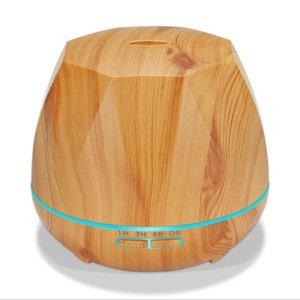 التحكم عن بعد مرطب الهواء من الضروري النفط الناشر Humidificador ميست صانع LED رائحة موزع موجات الصوت بالتساوي الروائح 500ML