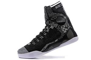 2020 Nouvelle gros 9 IX Elite Black Mamba Blackout Noël High Top Sport Outdoor Chaussures de basket-ball de formation Sneakers