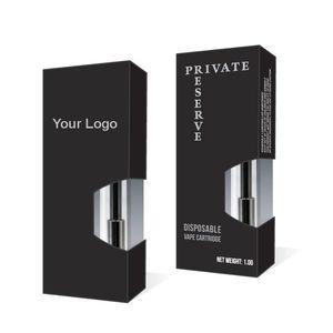 Caja de embalaje personalizada para todos los cartuchos de Vape de aceite grueso Caja de embalaje OEM para cartuchos de vaporizador Liberty V9 G2 A3
