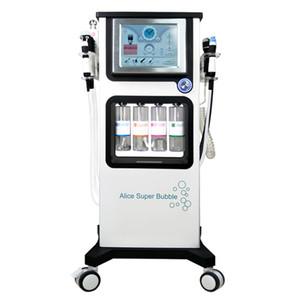 7 في 1 متعددة الوظائف أليس سوبر فقاعة قشر جيت الأكسجين بخاخ العلاج آلة الوجه للعناية بالبشرة