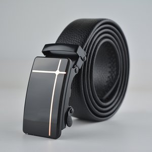 New Man Belt Acrylic New Technology Youth Automatic Buckle Belt Fashion Belt Men High Quality Manufacturers Direct Wholesale