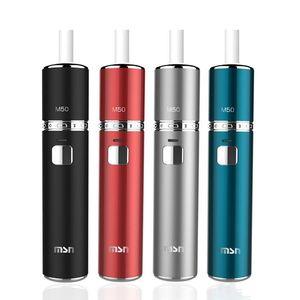 100% d'origine MSN M50 1450 mAh Grande capacité de batterie Chaleur Cigarette à pleine charge fumée 23 cigarettes Kit Heat-not-Burn