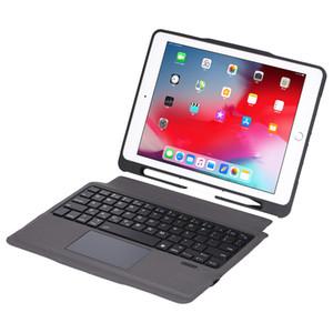 Super destacável removível fino separados abs sem fio Bluetooth caso Carteira de couro de teclado para ipad 10,2 10,5 pro 9,7