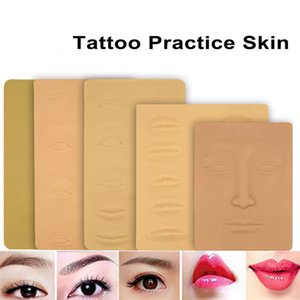 실리콘 문신 연습 피부 3D 부드러운 인공 피부에 대 한 얼굴 립 아이 립 영구 메이크업 문신 공급 초급