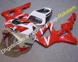Para carenados Honda CBR900RR 929 2000 2001 CBR RR CBR929 CBR900 00 01 Motocicleta ABS Plástico Rojo Negro Blanco Carenado (moldeo por inyección)