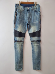20SS Andys Europea rodilla postal Stretch Jeans moda de la calle Alta Calidad Pantalones Pareja Hombres Mujeres Azul Negro Jeans HFXHKZ022