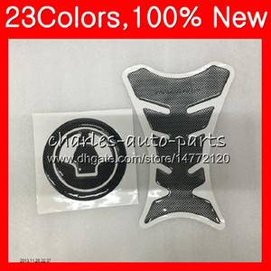3D-Carbon-Faser-Behälter-Auflage-Schutz für KAWASAKI ZX9R 98 99 ZX9R ZX 9 R 98-99 ZX 9R ZX9R 1998 1999 99 CL39 Tankdeckel Aufkleber Abziehbilder