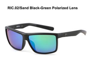 Gafas de sol para hombre de las gafas de sol 580P Rinconcito protección UV polarizada Surf / Pesca gafas de sol mujeres de diseño de lujo caja de la caja