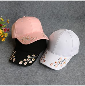 Gorra de béisbol bordada topee plum blossom sombrero de béisbol snapback hat