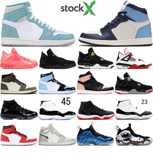 With Socks Hot sale Men Basketball Shoes Shattered Backboard Crimson Tint Cap and gown fire red Olympic sports sneakers mens trainers 36-47