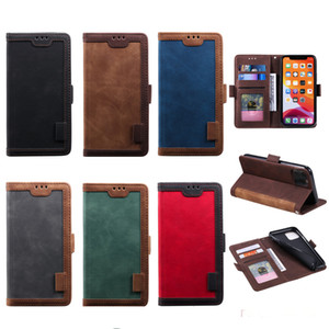 HH Luxury Hybrid Retro Wallet PU Leather Case TPU Cover For iPhone 11 Pro Max XR XS X 8 7 6 Samsung S9 S10 Plus S10e S20 Ultra Note 10 10+
