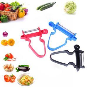 new 3Pcs Magic Peeler Set Slicer Grinder Cutter Multi-purpose Peeler Julienne Cutter for Vegetables Fruits Kitchen Supplies