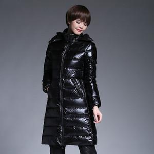 дизайнер куртки женских зимних пальто дизайнер куртка вниз куртка случайных женщина белой утиных женщин зимнего пальто черного mcler 313-123