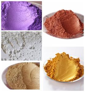 100g gemischt 5 Farben Mica DIY für Seifen-Dye Soap Colorant Schimmer Metallic Make-up für Nagellack / Lidschatten-Puder Hautpflege