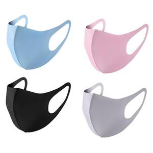 Staubdicht Gesichtsmaske Waschbar Mund PM2. 5 Maske Erwachsene Kds Größe Atemschutzmaske antibakterielle Wiederverwendbare Silk Baumwolle Masken