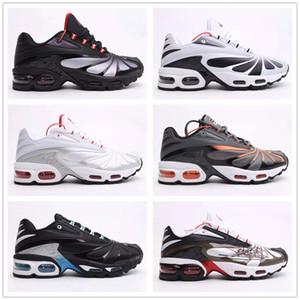 2020 Designer Mercurial Tn Plus 2 hommes Chaussures de course homme blanc orange chaussure noir sports de plein air Zapatos TN Baskets Sneakers 40-45