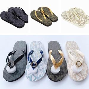 Cartas Mulheres Chinelos Summer Beach flip-flops Slides Loafers Moda não Slip plana flip flops Sandals Meninas Wearproof Banheira Shoes D21802 quente