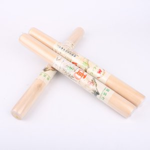Wood Rolling Pin Natural Wooden Rolling Pins Dumpling Wrapper Durable Non Stick Dough Roller Kitchen Tools GGA2390