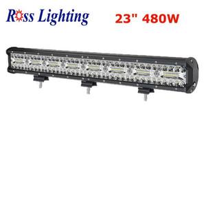 """Tri-row Offroad LED Bar 60W 120W 420W 480W Light Bar 4"""" 7"""" 20"""" 23"""" Combo feixe de 4x4 ATV Truck SUV 12V 24V LED Luz de trabalho"""