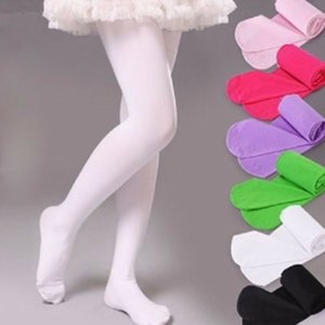Baby Autumn Winter Tights Hot Baby Toddler Kid Girl Ribbed Stockings Cotton Warm Pantyhose Solid Candy Color Tight 4-12 Years
