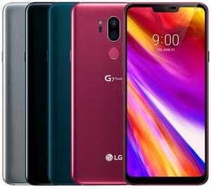 Reformierte Original LG G7 ThinQ G710U G710EM G710V G710N 6,1 Zoll Octa-Core 4 GB RAM 64 GB ROM Dual-16MP-hintere Kamera-4G LTE Telefon DHL 1pcs