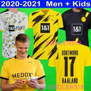 2020 2021 ERLING HAALAND Borussia Dortmund REUS SANCHO jerseys del fútbol de Paco Alcácer GOTZE Hakimi camisas de los niños de fútbol Hummels Witsel