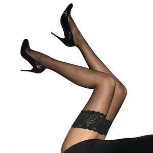 long silk socks sexy Silk socks lace lace thin transparent elastic women's over-knee sex 9004