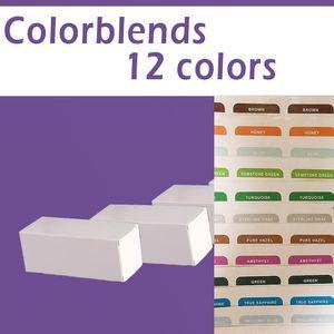 cajas frescas 12 colores / 2pcs = 1pair / lentes de contacto cajas / cajas frescas / modelos clásicos / envío libre