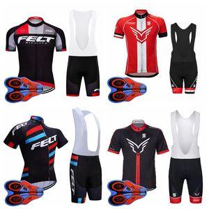 Fieltro equipo ciclismo mangas cortas jersey babero conjuntos hombres babero manga corta transpirable conjuntos de jersey de deportes de secado rápido al aire libre S83116