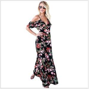 678 Kadın Tulumlar, Günlük Elbiseler, tulum kolsuz elbiseler nuevo estilo vestido para chicas mujeres wt19 ile çiçek elbise etek