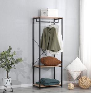 Вешалка для одежды мебель для спальни простой черный стиль вешалка для одежды склад США в наличии быстрая доставка