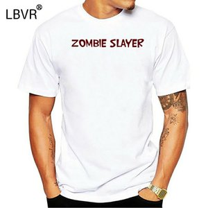 Dead Island Video Game Zombie Slayer Custom White T-shirt