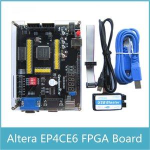 Freeshipping ALTERA EP4CE6 FPGA Development Board Altera Cyclone IV NIOSII EP4CE Board and USB Blaster Programmer