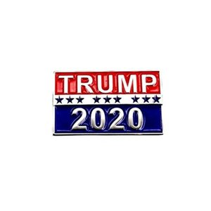 Trump 2020 Designs Brooch Pins Metal Alloy US Presidential Election Brooches Gifts Breastpins Jewelry For Men Women 1 1ls E1