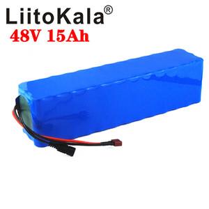 LiitoKala 48V 15Ah 20Ah 25Ah 30Ah ebike della batteria 20A BMS 48v batteria della bici di batteria al litio Pack Per elettrico Scooter elettrico