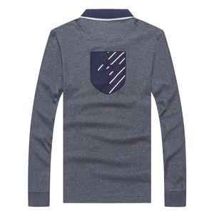 Inverno shirt hombre parco Eden Top UOMO MANICA LUNGA casuale Camisa ricamato Park Eden maschili polo completa Camicie 3XL