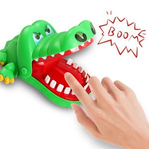 jouet drôle jeu crocodile bouche doigt morsure dentiste enfant crocodile enfants jeu de roulette crocodile jouet drôle