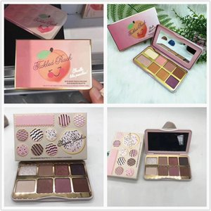 Nuovo in stock Tickled Peach e Sugar Cookie Mini Ombretto Make Up Palette Vacanza Chirstmas 8 colori palette di ombretti DHL free