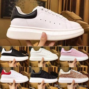 2020 Luxury Designer Men Women Vintage Sneakers Best Top Quality Fashion Leather Platform Shoes Flat Outdoors Daily Dress Party Casual Shoe