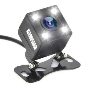4LED lights Reversing camera HD universal adjustable with ruler CCD night vision waterproof car reversing rear view camera image