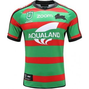 2020 Sul Sydney Rabbitohs Adulto Super Rugby Jersey Shirt Maillot Camiseta Maglia Tops S-5XL Trikot Camisas