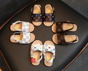 Chaussures de plage sans glissement pour bébés enfants Sweet Princess Chaussures Été 2019 Nouveaux garçons et filles Sandals