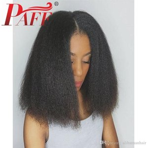Yaki Straight 360 Lace Frontal Wig Pre Plucked With Baby Hair Brazilian Remy Lace Front Human Hair Wigs